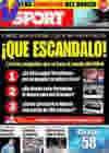 Portada diario Sport del 12 de Junio de 2009