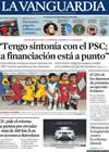 Portada La Vanguardia del 12 de Junio de 2009