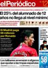 Portada Periódico de Catalunya del 12 de Junio de 2009
