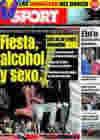 Portada diario Sport del 13 de Junio de 2009