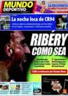 Portada Mundo Deportivo del 13 de Junio de 2009