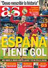 Portada diario AS del 15 de Junio de 2009