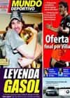 Portada Mundo Deportivo del 16 de Junio de 2009