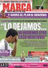 Portada diario Marca del 19 de Junio de 2009