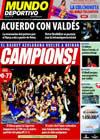 Portada Mundo Deportivo del 19 de Junio de 2009