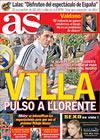 Portada diario AS del 23 de Junio de 2009