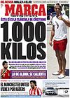 Portada diario Marca del 23 de Junio de 2009