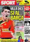 Portada diario Sport del 23 de Junio de 2009
