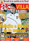 Portada diario AS del 26 de Junio de 2009