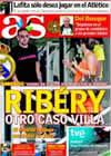 Portada diario AS del 27 de Junio de 2009