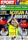 Portada diario Sport del 27 de Junio de 2009