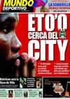 Portada Mundo Deportivo del 27 de Junio de 2009
