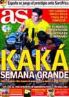 Portada diario AS del 28 de Junio de 2009