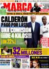Portada diario Marca del 28 de Junio de 2009