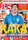 Portada diario AS del 29 de Junio de 2009