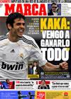Portada diario Marca del 30 de Junio de 2009
