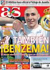 Portada diario AS del 2 de Julio de 2009