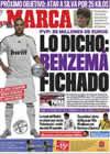 Portada diario Marca del 2 de Julio de 2009