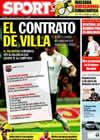 Portada diario Sport del 2 de Julio de 2009