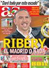 Portada diario AS del 3 de Julio de 2009