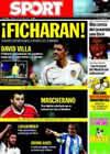 Portada diario Sport del 3 de Julio de 2009