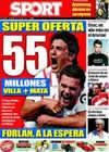 Portada diario Sport del 5 de Julio de 2009