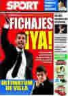Portada diario Sport del 6 de Julio de 2009