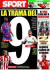 Portada diario Sport del 9 de Julio de 2009