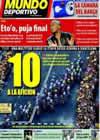 Portada Mundo Deportivo del 10 de Julio de 2009