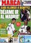 Portada diario Marca del 11 de Julio de 2009