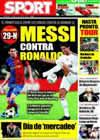 Portada diario Sport del 11 de Julio de 2009