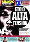 Portada Mundo Deportivo del 12 de Julio de 2009