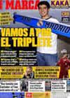 Portada diario Marca del 13 de Julio de 2009