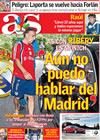 Portada diario AS del 15 de Julio de 2009