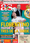 Portada diario AS del 16 de Julio de 2009