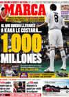 Portada diario Marca del 16 de Julio de 2009