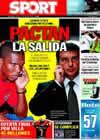 Portada diario Sport del 17 de Julio de 2009