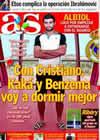 Portada diario AS del 18 de Julio de 2009