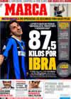 Portada diario Marca del 18 de Julio de 2009