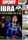 Portada diario Sport del 19 de Julio de 2009