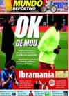 Portada Mundo Deportivo del 19 de Julio de 2009