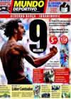 Portada Mundo Deportivo del 20 de Julio de 2009