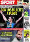 Portada diario Sport del 21 de Julio de 2009