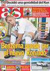 Portada diario AS del 22 de Julio de 2009