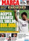 Portada diario Marca del 22 de Julio de 2009