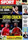 Portada diario Sport del 22 de Julio de 2009