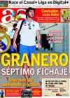 Portada diario AS del 23 de Julio de 2009