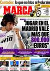 Portada diario Marca del 24 de Julio de 2009