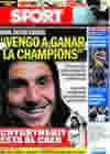 Portada diario Sport del 25 de Julio de 2009