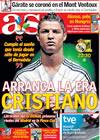 Portada diario AS del 26 de Julio de 2009